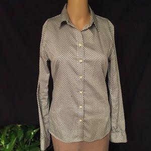 Banana Republic long sleeve button front shirt